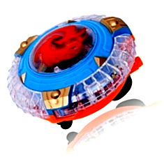 planet of toys spinning top with lights india
